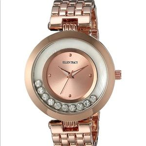 Ellen Tracy Women's Quartz Metal and Alloy Watch